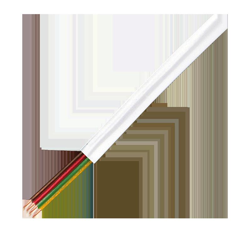 LogiLink :: Produkt Telefonkabel flach 4-Adrig 100M, Weiß |25.08.2018