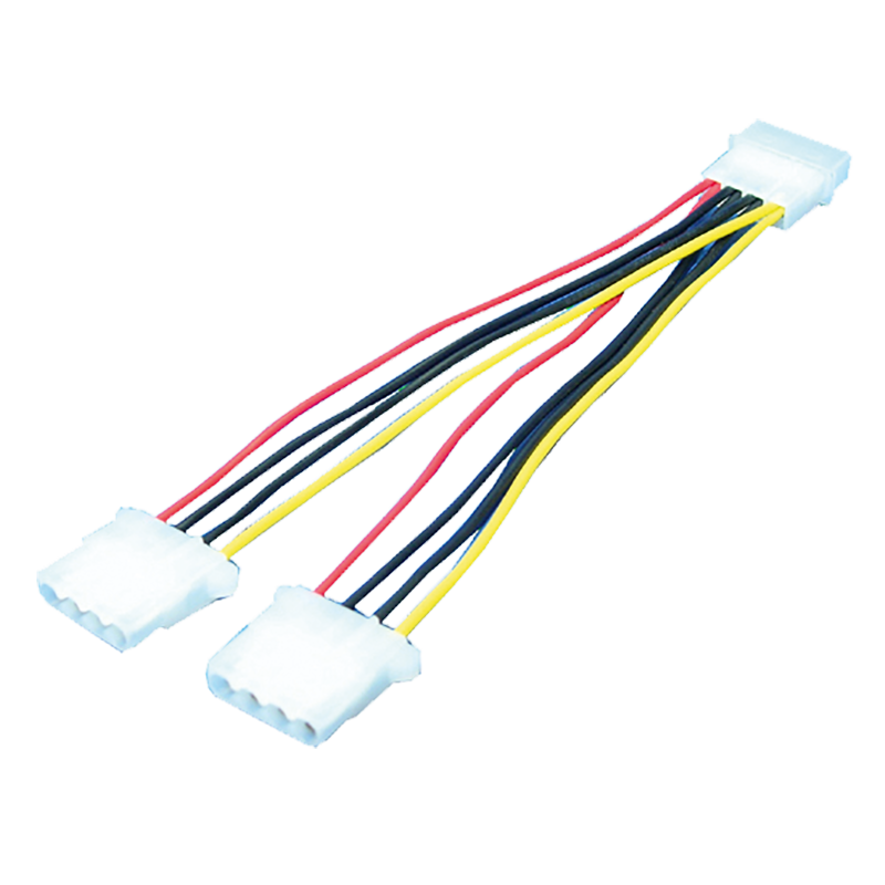 LogiLink :: Produkt Y-Stromkabel 1x 5,25 Stecker -> 2x 5,25 Buchse 0 ...