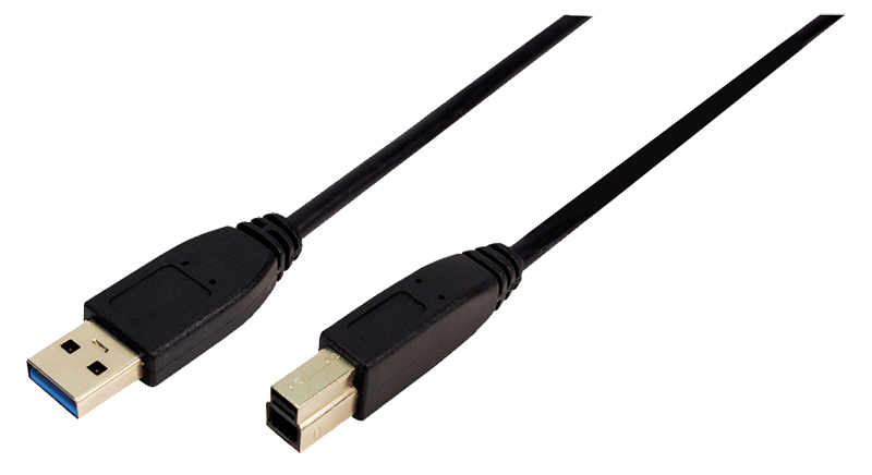 logilink produkt kabel usb 3 0 anschluss a b 2x stecker 3 00 meter. Black Bedroom Furniture Sets. Home Design Ideas
