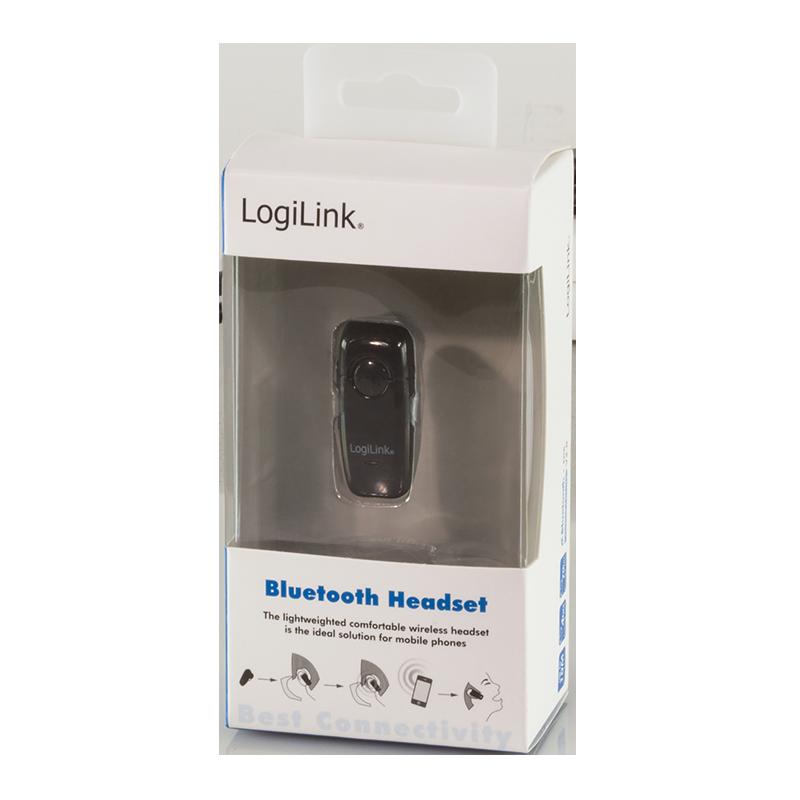 LogiLink :: Produkt Bluetooth V2.0 Earclip Headset |06.11.2018  LogiLink :: Pro...