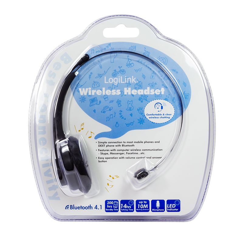 LogiLink :: Produkt Bluetooth Mono Headset |14.10.2018  LogiLink :: Pro...